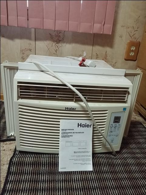 haier 10000 btu window air conditioner manual