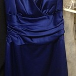 Bridesmaid/Prom Dress - Sapphire Blue