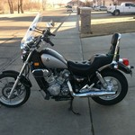 Motorcycle to trade for trailer/equipment