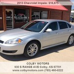 SWEEET 2013 Impala LTZ With Tint and Chrome just $16875