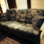 Wicker Sunroom Couch
