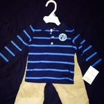 Carter's six-month two piece set