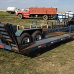 Brad tech sprayer trailer.