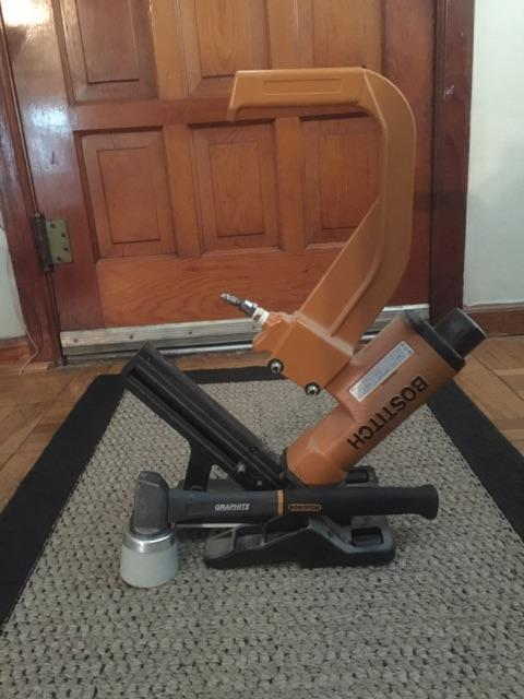Bostitch Hardwood Flooring nailer