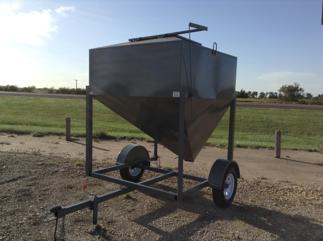 Portable Feed Storage Bins : Portable grain bins nex tech classifieds