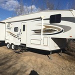 2008 Jayco 5 wheel Bunkhouse 31.5