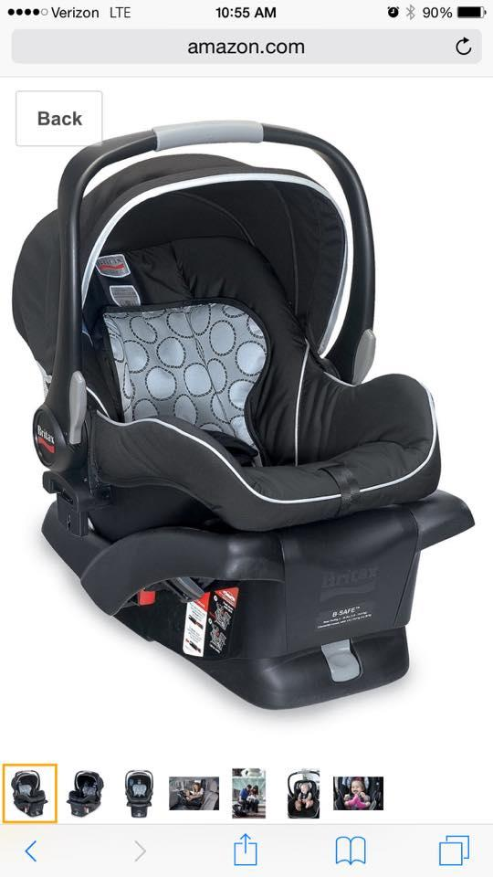 britax b safe infant car seat with two bases nex tech classifieds. Black Bedroom Furniture Sets. Home Design Ideas