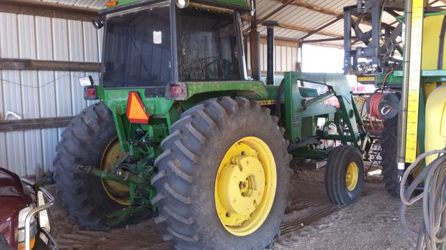 Tractor With Windows : John deere loader tractor for sale nex tech classifieds