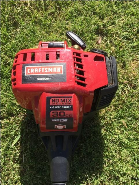 Craftsman 30cc  4-cycle Trimmer