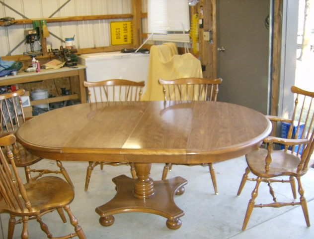 ethan allen dining room table chairs nex tech classifieds