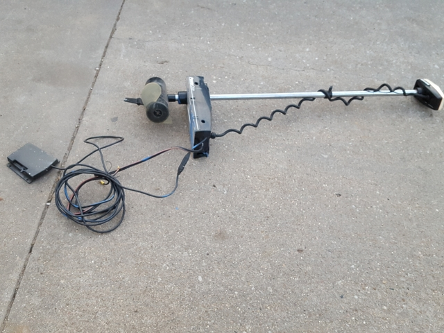 Minnkota Trolling Motor With Remote Steering Tct Classifieds