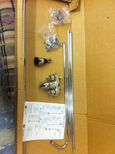 Rare Clawfoot Tub Shower Conversion Kit Nex Tech Classifieds