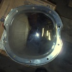 chrome differential cover-NEW--price lowered