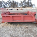Perfection 9  Steel dump truck box with hoist.