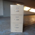 Hon 3 drawer Legal Size File Cabinet