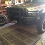 Grill guard for 2nd gen dodge ram