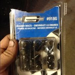 Header bolts-Chevrolet ls engines