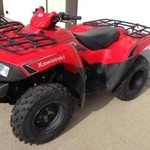 2009 KVF 650 Red Bruteforce