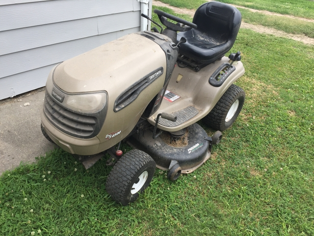 Craftsman Dys 4500 Riding Lawn Mower Tct Classifieds