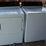 Hotpoint Washer and Electric Dryer