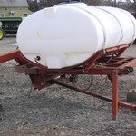 500 GALLON 3 PT. LIQUID TANK