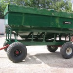 PARKER GRAVITY WAGON, ABOUT 300 BUSHEL