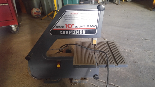 Craftsman 10 in band saw