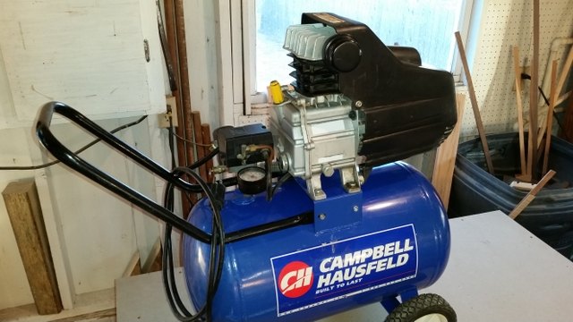 Campbell Hausfeld air compressor for parts or repair