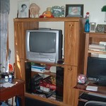 QUITE UNIQE ENTERTAINMENT CENTER