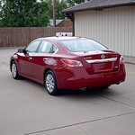 2013 Nissan Altima Red Metalic