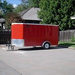 2013 Bullitt Enclosed Trailer 6x12