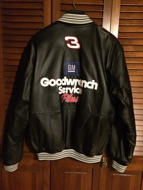 NASCAR Dale Earnhardt New reversible XL Leather jacket