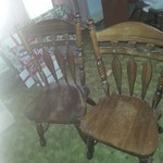 2 Dining Table Chairs