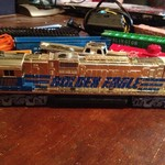 RARE Tyco Golden Eagle Train Set