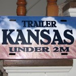 KANSAS UNDER 2M TRAILER TAGS