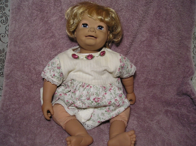 MY REAL BABY DOLL BY HASBRO
