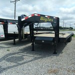2014 BIG TEX 14GN 25' DECKOVER