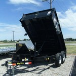2014 BIG TEX 12' 10SR DUMP TRAILER
