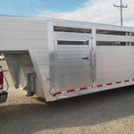 ***NEW JUST OUT*** HILLSBORO 7.5' x26' ENDURA STOCK TRAILER