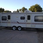 27 ft bumper pull trailer, 2000 model, in great condition
