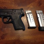 Like New Smith & Wesson M&P; Shield 9mm.