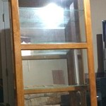 *REDUCED* Curio Cabinet-Glass Shelves & Lighted