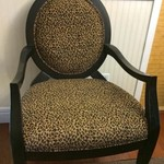 Leopard Accent Chairs