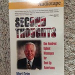 Audiotape: Second Thoughts by Mort Crim