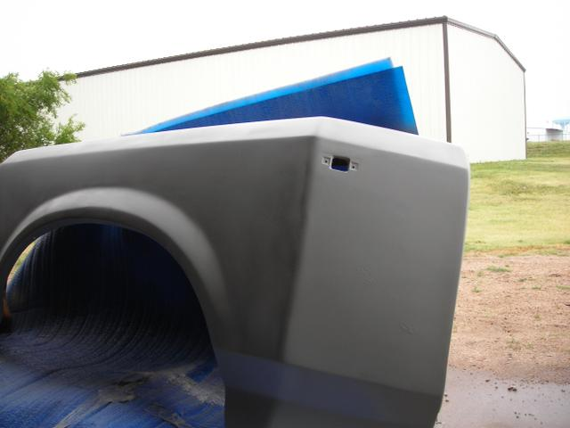 Dually Trailer Fenders : Rear passenger dually fender tct classifieds