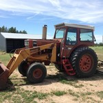 1976 IH 966 with Koyker Loader ON AUCTIONTIME
