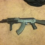 Ak47 airsoft rifle