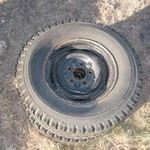 ANTIQUE WHEELS  FOR FARM MACHINERY
