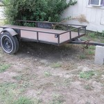 Golf Cart / Utility Trailer For Sale