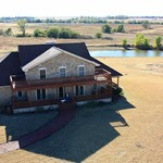 Custom 6 Bed, 4.5 Bath, Acreage w/Pond, Pretty Prairie,KS